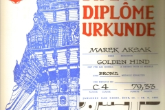 Dyplom 07 Jablonec 1981 Bronz