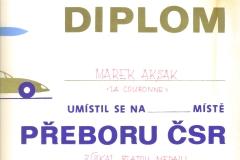 Dyplom 10 1987 Złoto