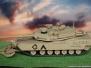 M1A1 Abrams w/Mine Plow 1/35 Tamiya
